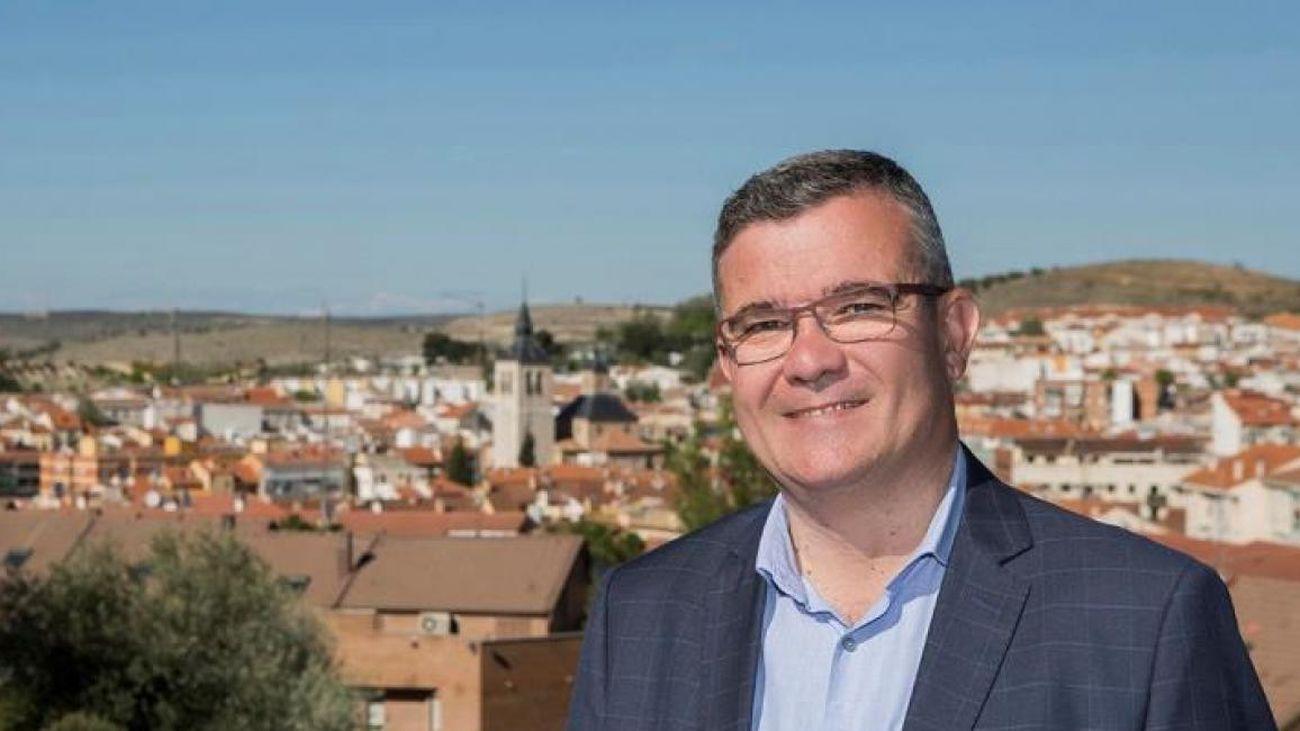 Guillermo Hita, presidente de la Federación de Municipios Madrileños  y  alcalde de Arganda