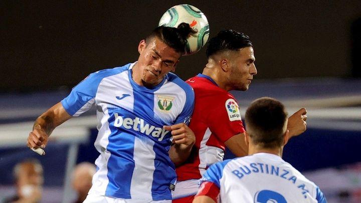 0-0. La falta de gol del Leganés ante el Granada le acerca más al precipicio