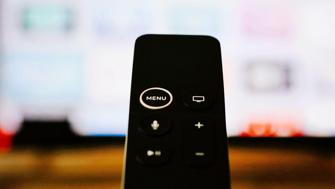 Mando a distancia de un televisor