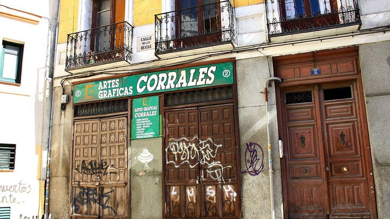 Comercios centenarios: Imprenta Corrales