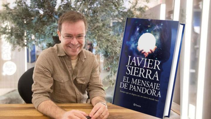 Javier Sierra nos presenta su nuevo libro 'El mensaje de Pandora'
