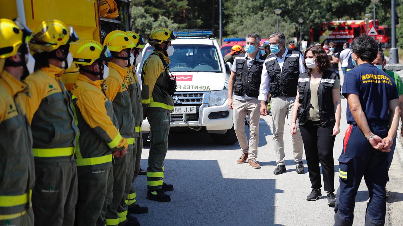 El plan contra incendios forestales en Madrid refuerza sus efectivos y se concierta con las dos Castillas