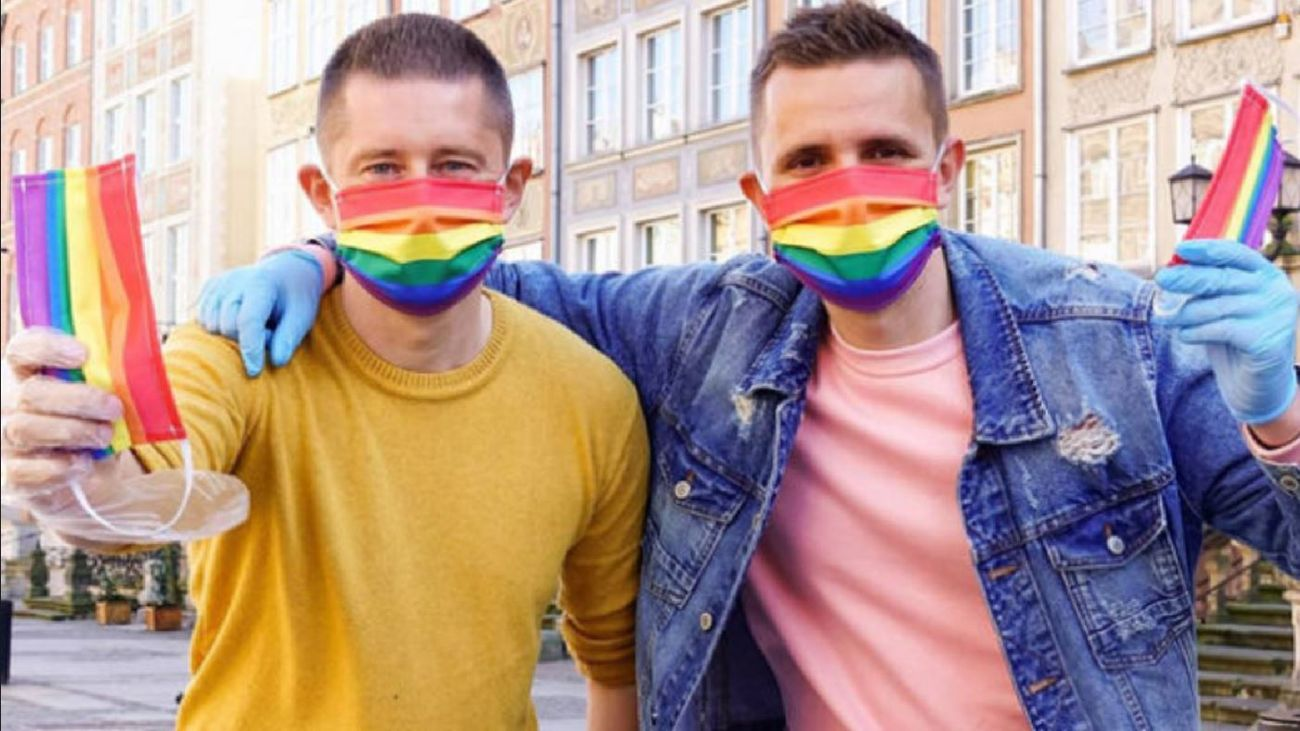 Mascarillas Orgullo Gay LGTB