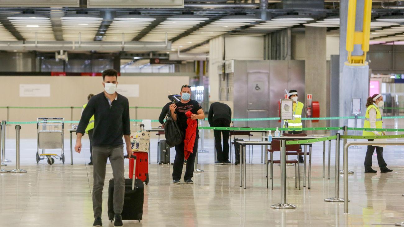 El aeropuerto de Barajas estrena nuevas medidas de control tras el fin del estado de alarma