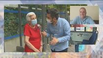 Una anciana de 91 años encuentra y da las gracias al conductor de autobús que la ayudó pagándole el billete
