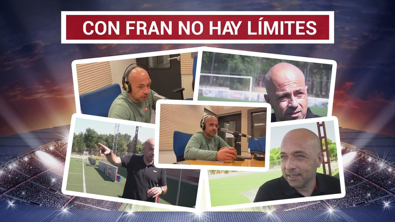 Fran Garrido, de entrenador a conserje en el confinamiento