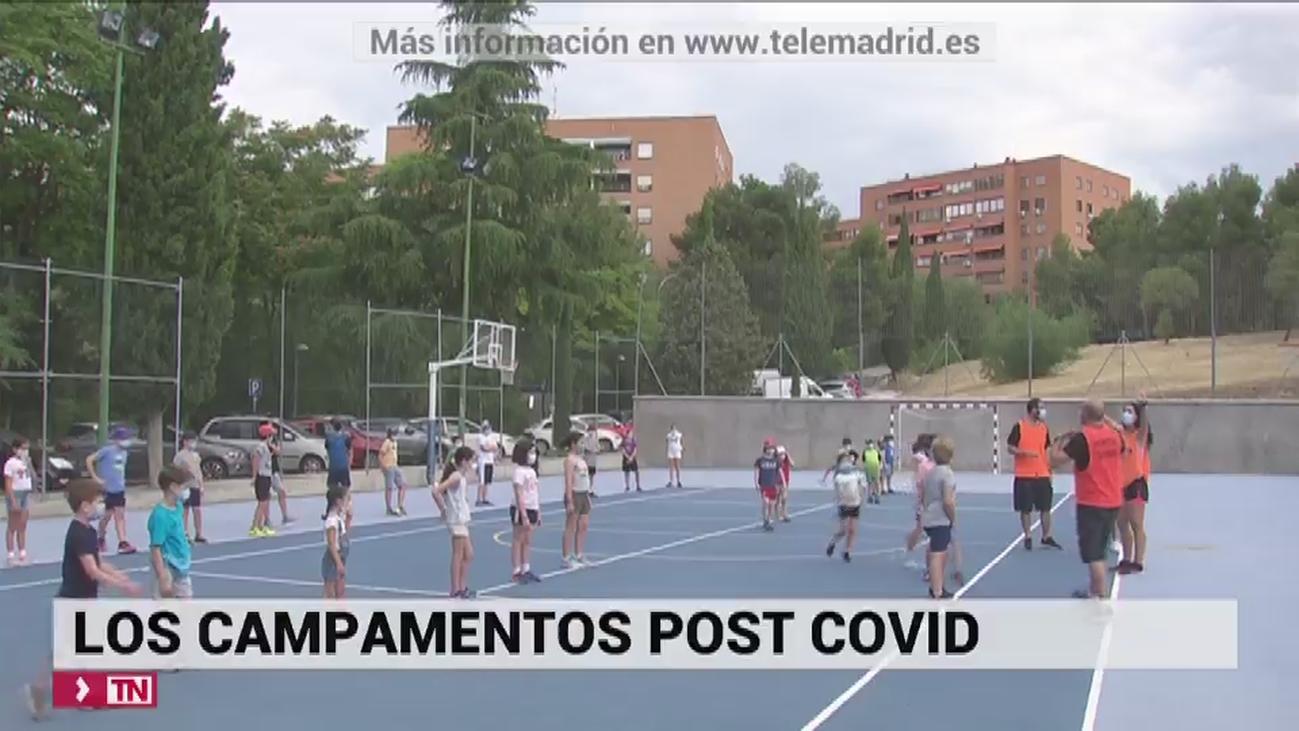 Se dispara la demanda en Madrid de plazas para los campamentos urbanos