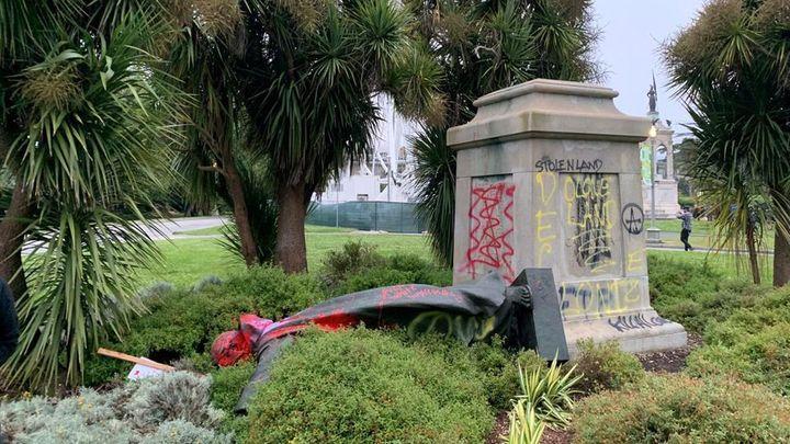 """Javier Úbeda: """"Boadilla  se ofrece para acoger la estatua vandalizada de Fray Junípero en San Francisco"""""""