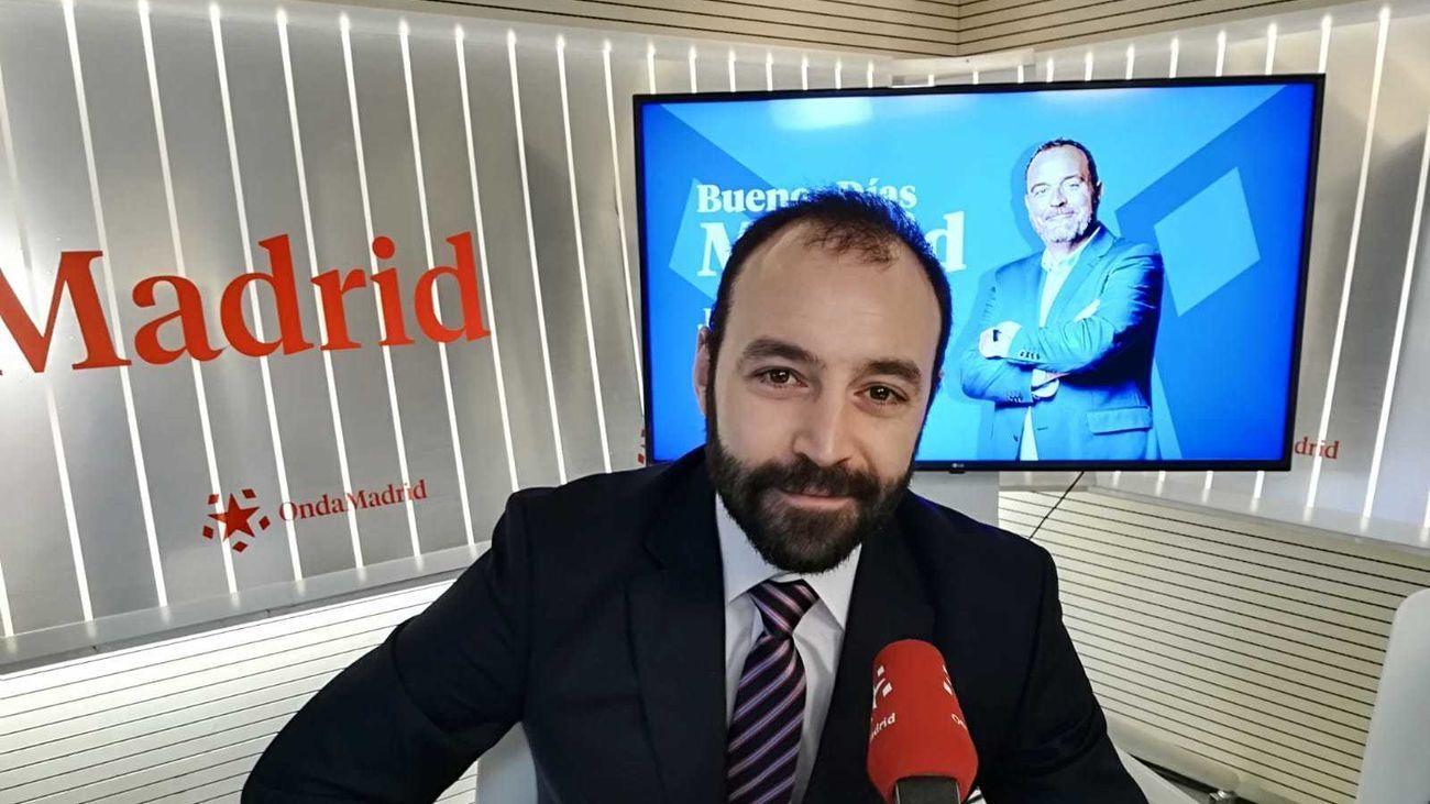 Manuel Giménez,  consejero de Economía, Empleo y Competitividad de la Comunidad de Madrid