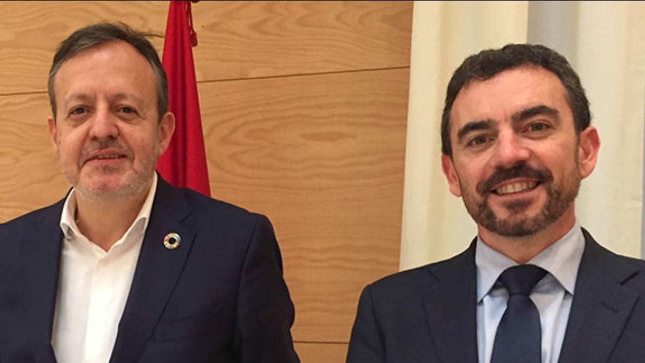 Alberto Reyero y Oscar Alvarez