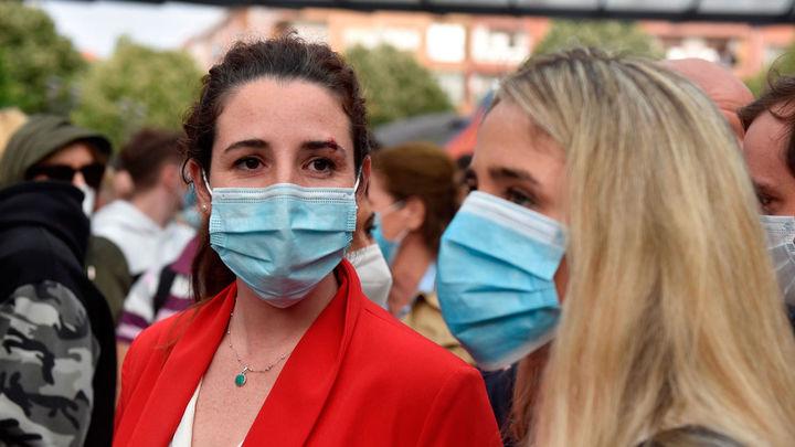 Herida una diputada de Vox en un mitin en Sestao entre agresiones y cargas