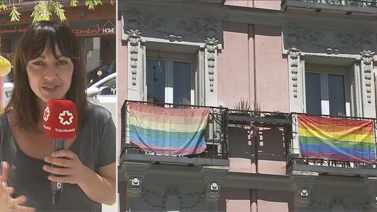 Tranquilidad y tristeza entre los vecinos de Chueca ante una atípica semana del Orgullo