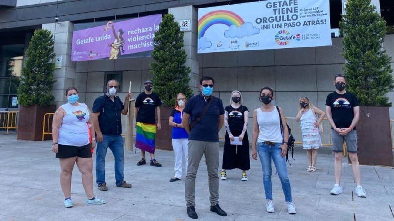 Getafe celebra su Orgullo LGBTI+ un año más