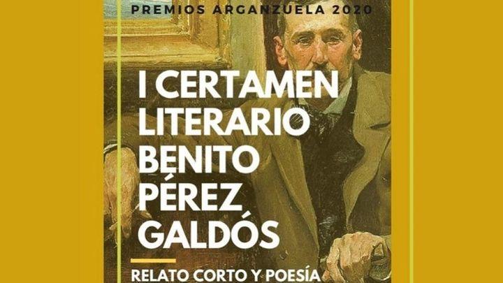 Arganzuela estrena certamen literario en honor a Benito Pérez Galdós
