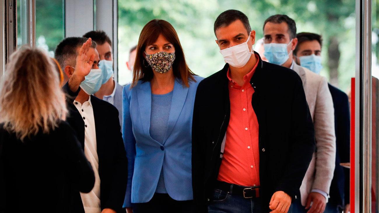 Pedro Sánchez se une a la campaña electoral del PSE