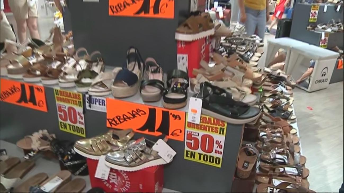 Calzado veraniego a precio de chollo, en Leganés