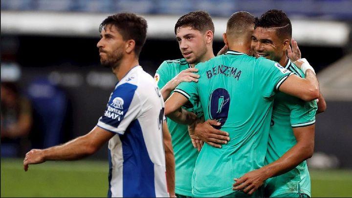0-1. La genialidad de Benzema guía al líder y hunde al Espanyol