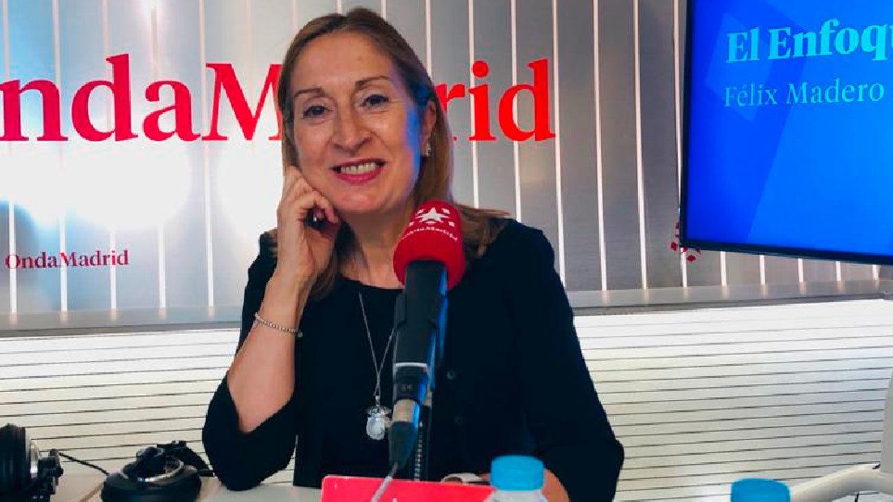 Ana Pastor,  vicepresidenta segunda del Congreso de los Diputados
