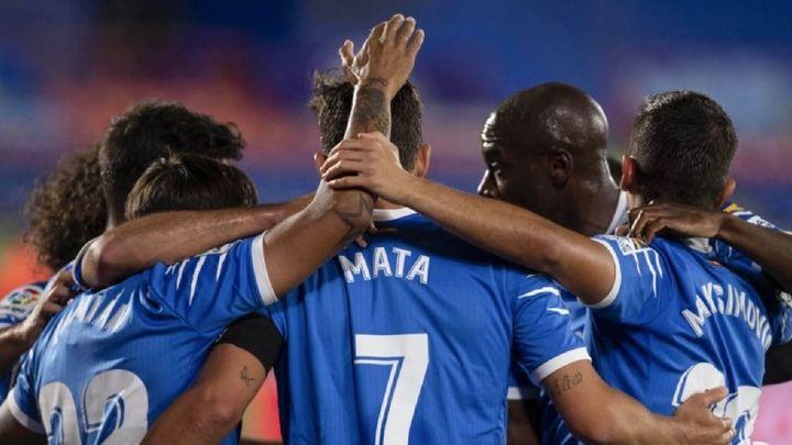 2-1. Jaime Mata desatasca al Getafe ante la Real Sociedad