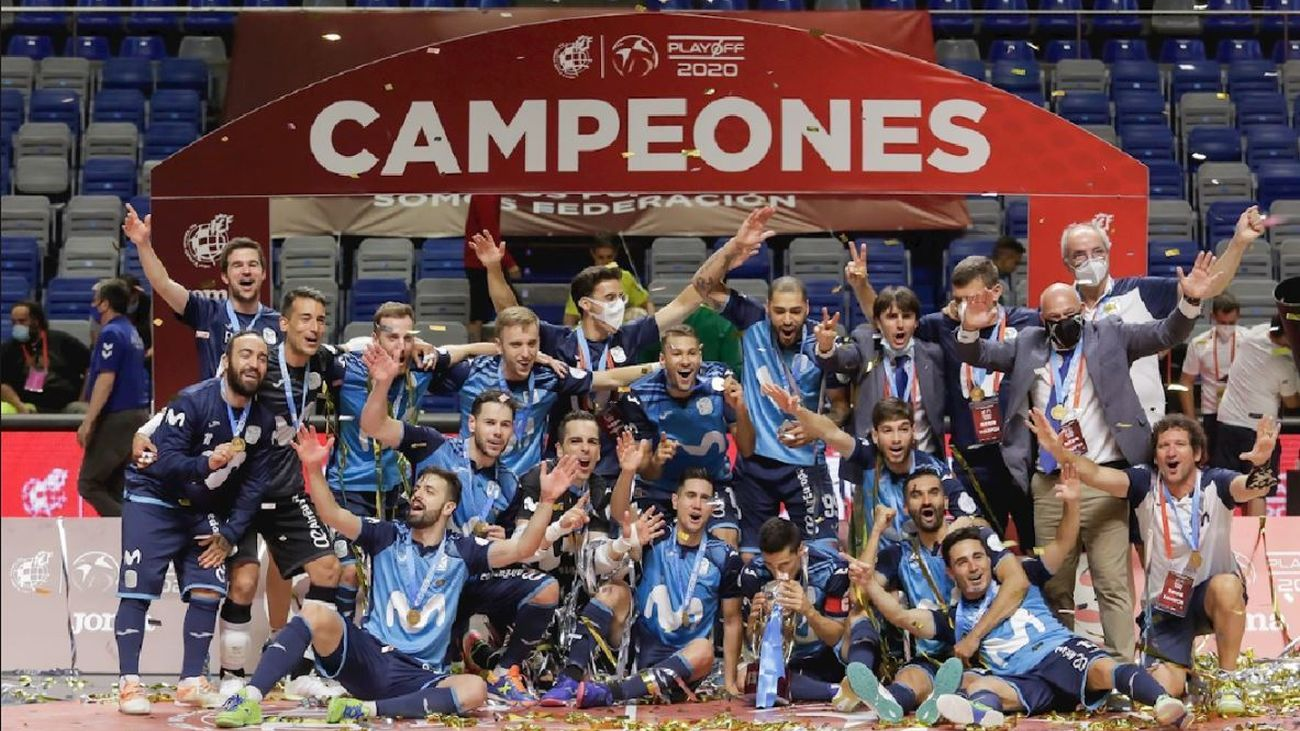 Movistar Inter, campeón de liga 2019-2020