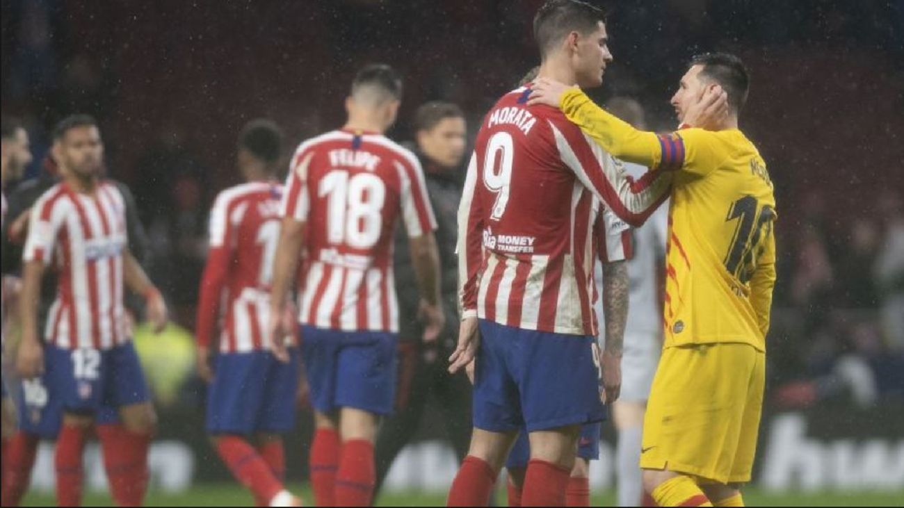 Mata y Messi