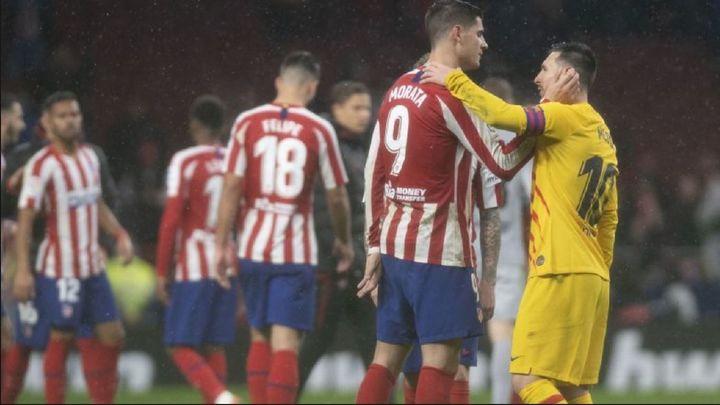 El Atlético, ante un Barça contra las cuerdas