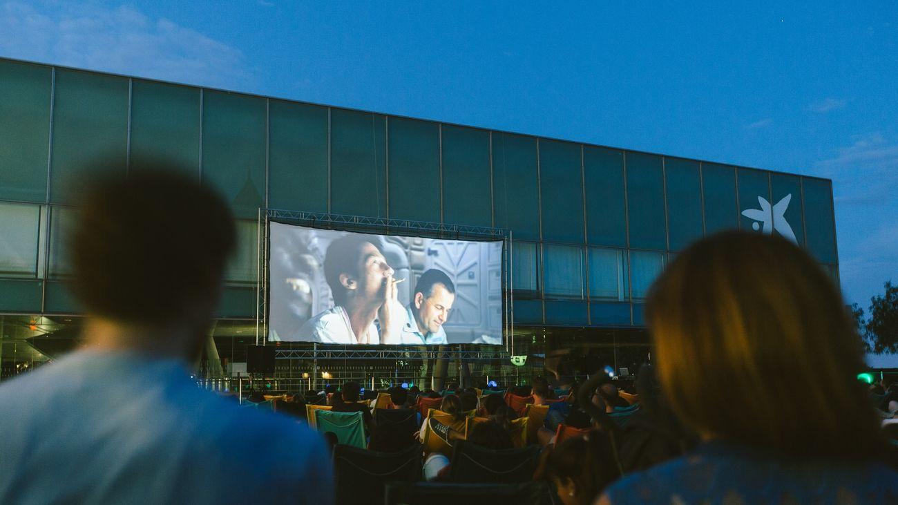 Imagen de un cine de verano