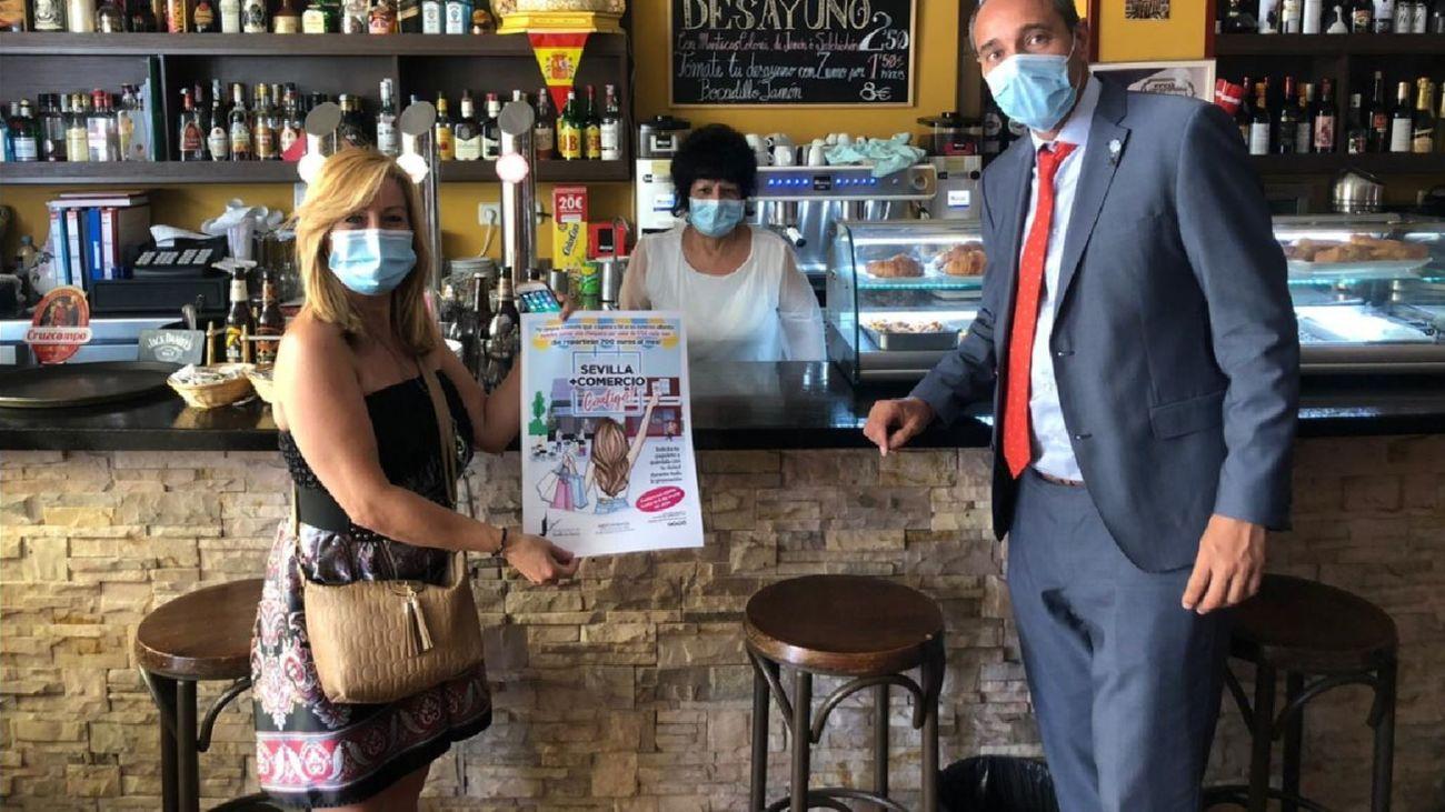 Campaña de apoyo al comercio de Sevilla la Nueva