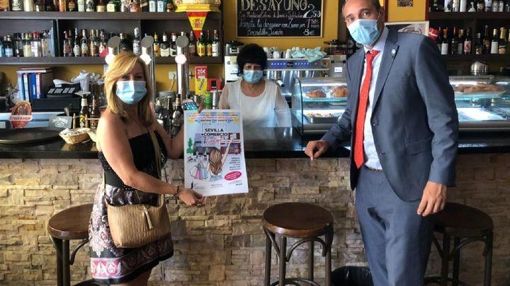 Sevilla la Nueva sorteará cada mes 700 euros entre los vecinos que consuman en comercios del municipio