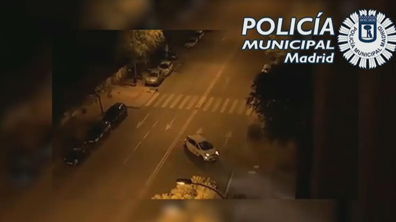 Ocho detenidos por robar coches de alquiler para carreras ilegales en Madrid