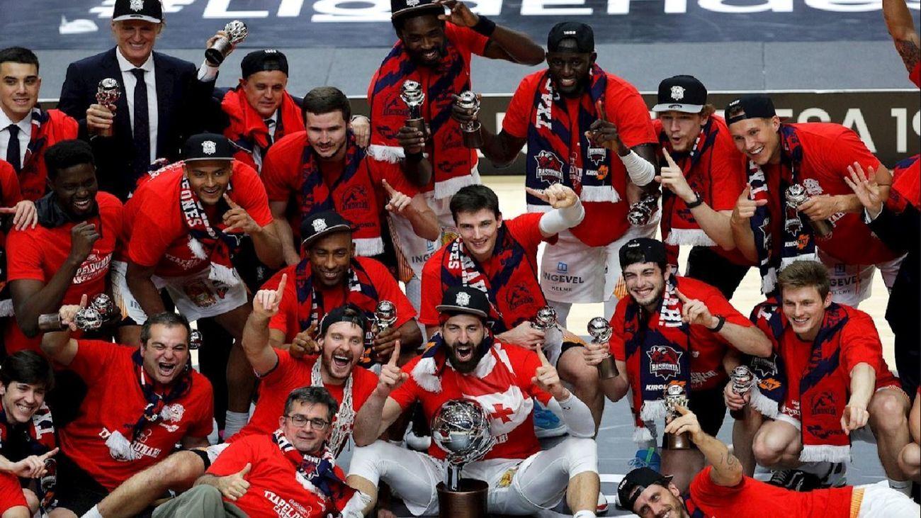 Baskonia, campeón de Liga
