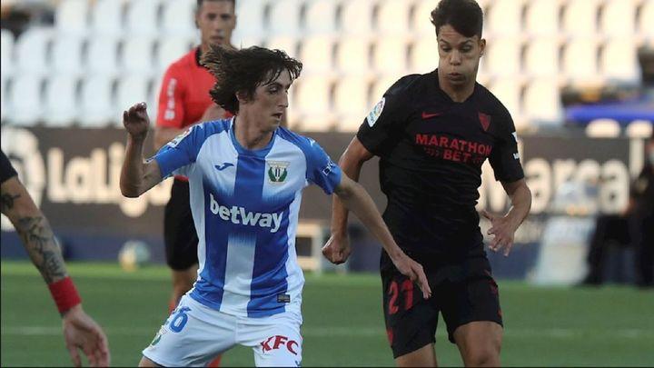 0-3. El Leganés prolonga su agonía ante el Sevilla