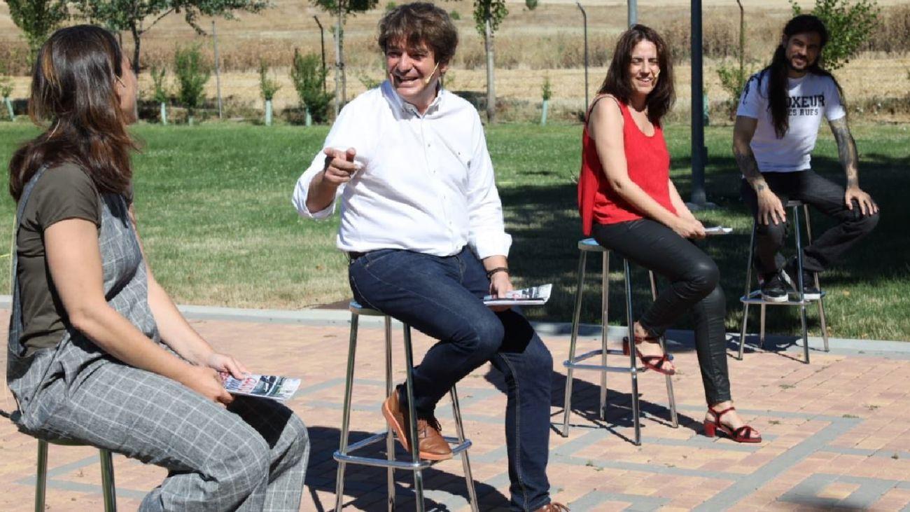 Javier Ayala presenta la programación cultural de Fuenlabrada