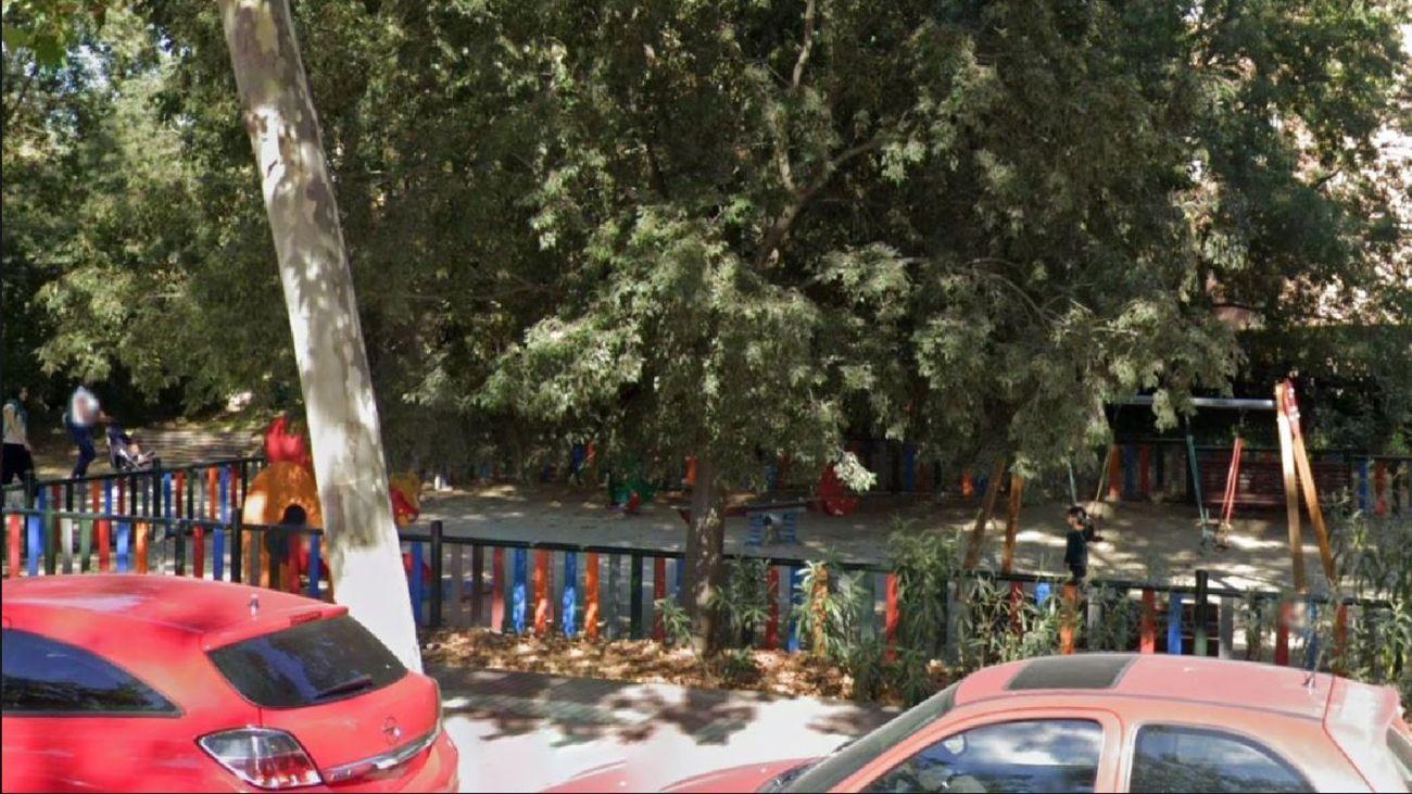 Zona infantil de San Blas