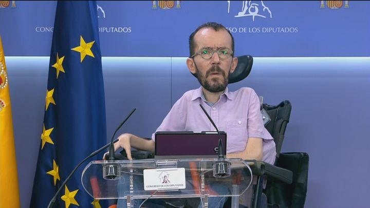 """Echenique ve """"clarísimo"""" que Yolanda Díaz debe liderar Unidas Podemos aunque respeta sus tiempos"""
