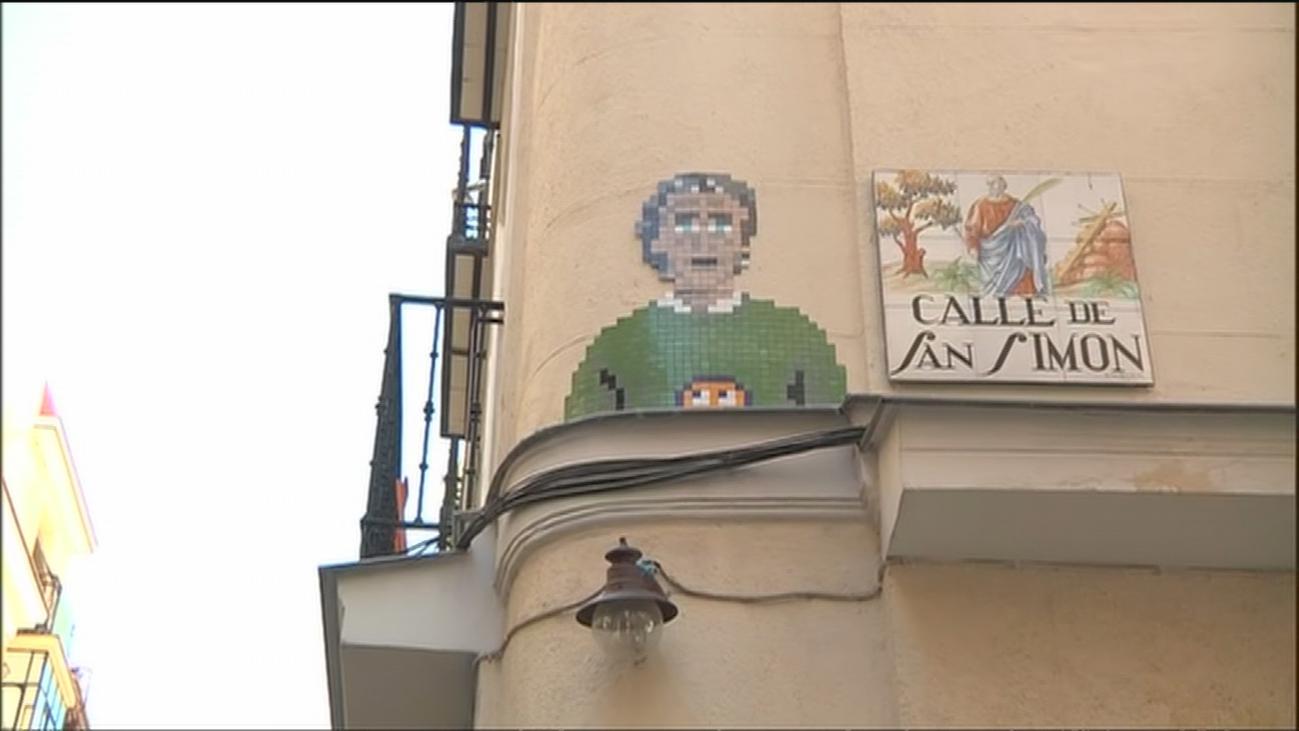 ¿Fernando Simón, nuevo icono popular? Ya tiene un mosaico en Lavapiés