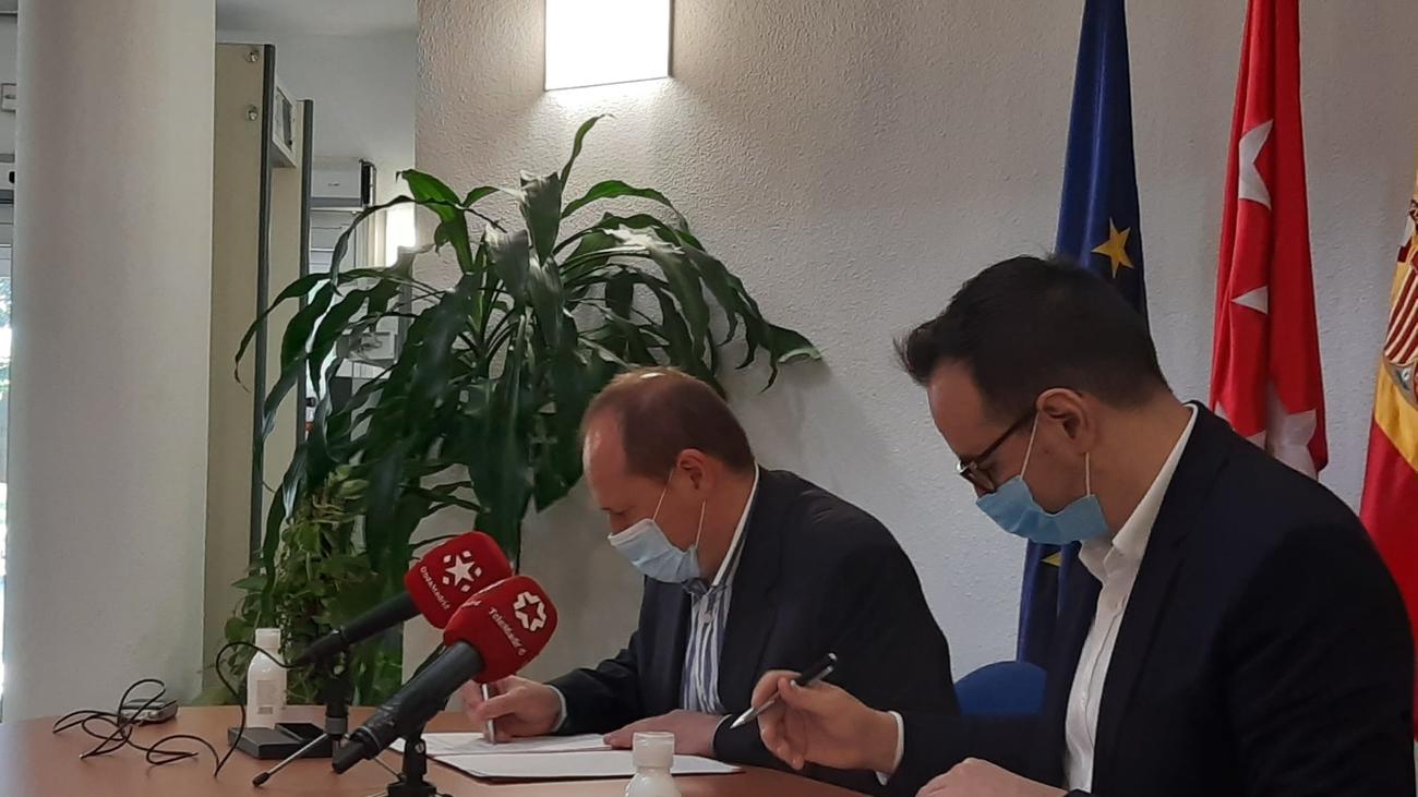 Acuerdo de la Agencia para el Empleo y Onda Madrid para ayudar a crear y preservar puestos de trabajo
