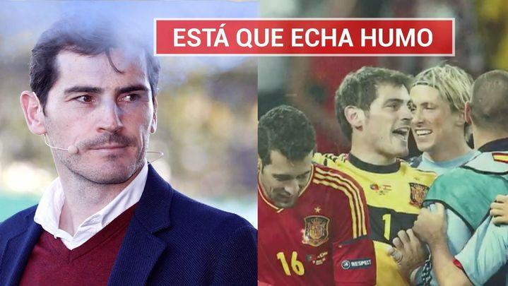 """Casillas, ninguneado por la Federación:  """"Pido perdón si le he hecho algo malo a la selección"""""""