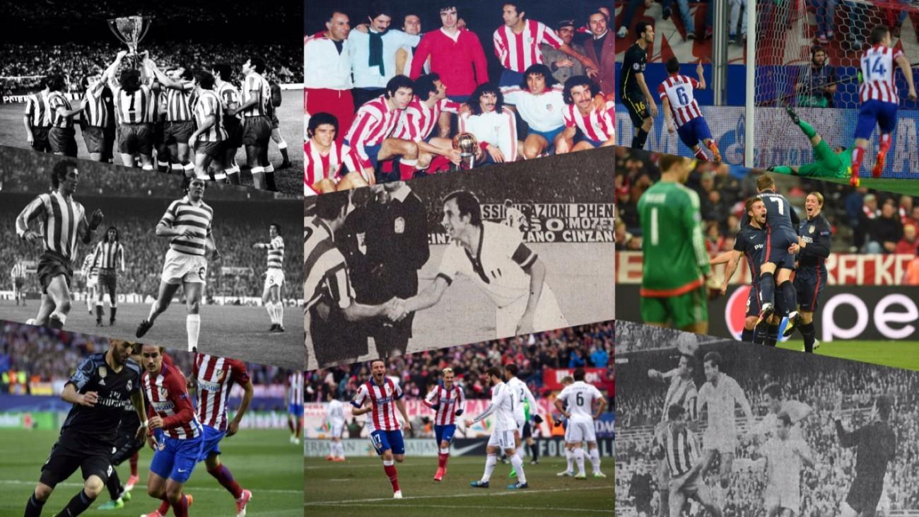 Mejores partidos en el Vicente Calderón