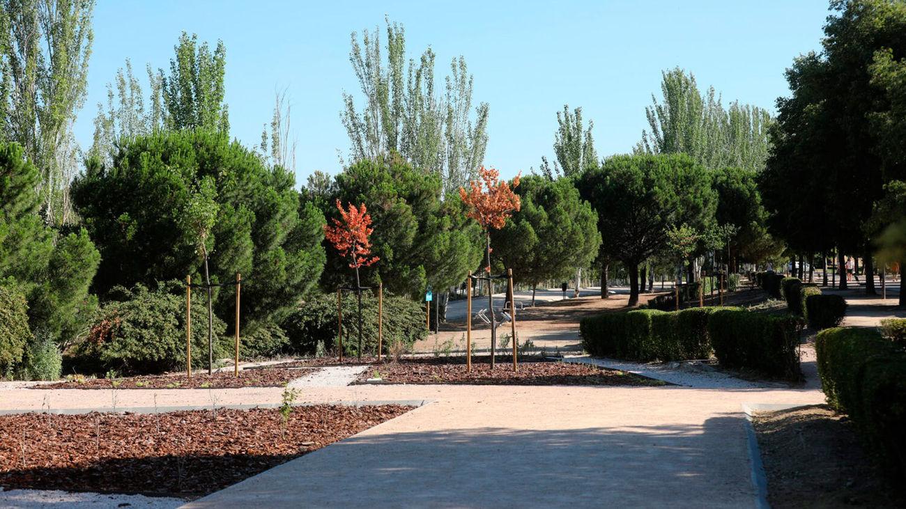 El Ayuntamiento de Madrid concluye las obras del parque Alcalde Jesús Pérez Quijano de Vicálvaro