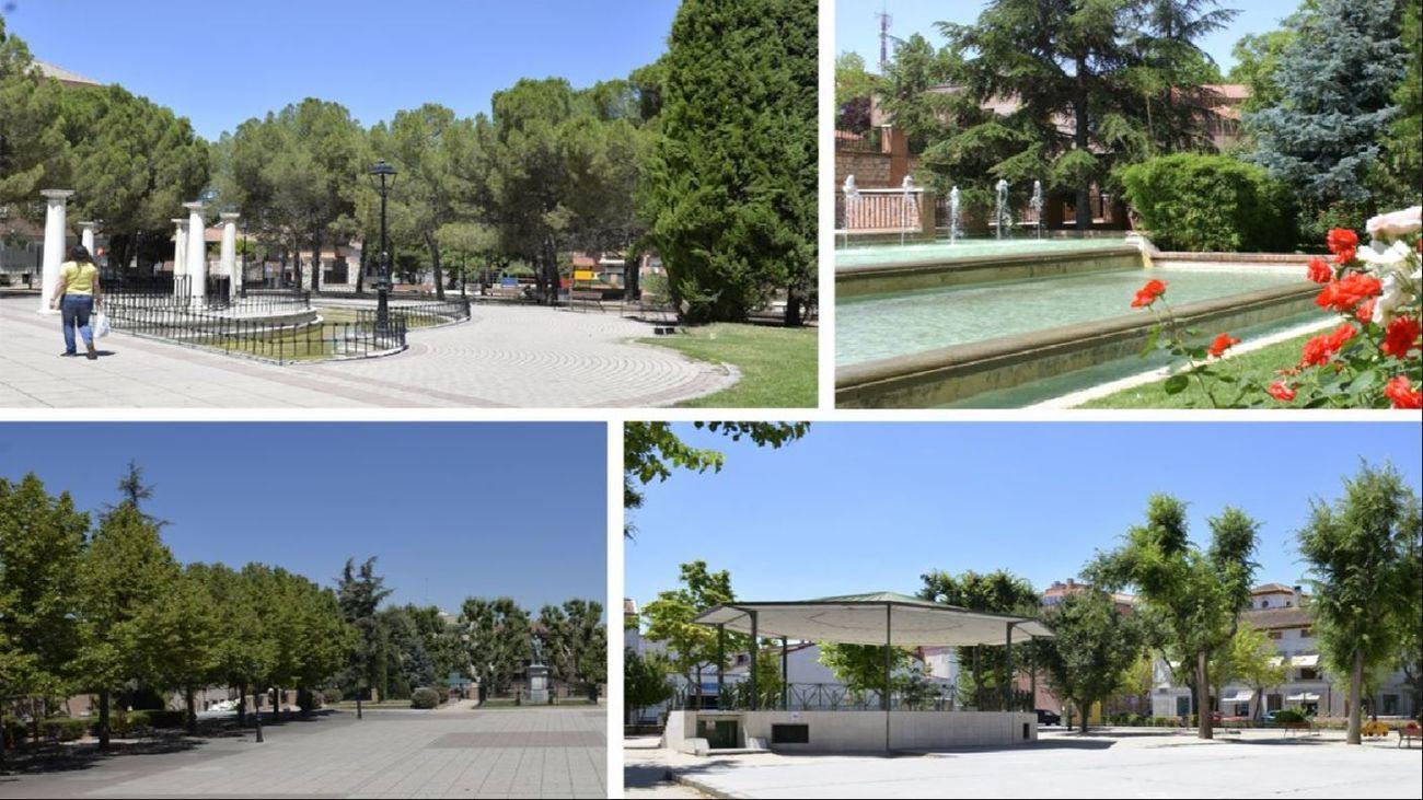 Parques y jardines Valdemoro