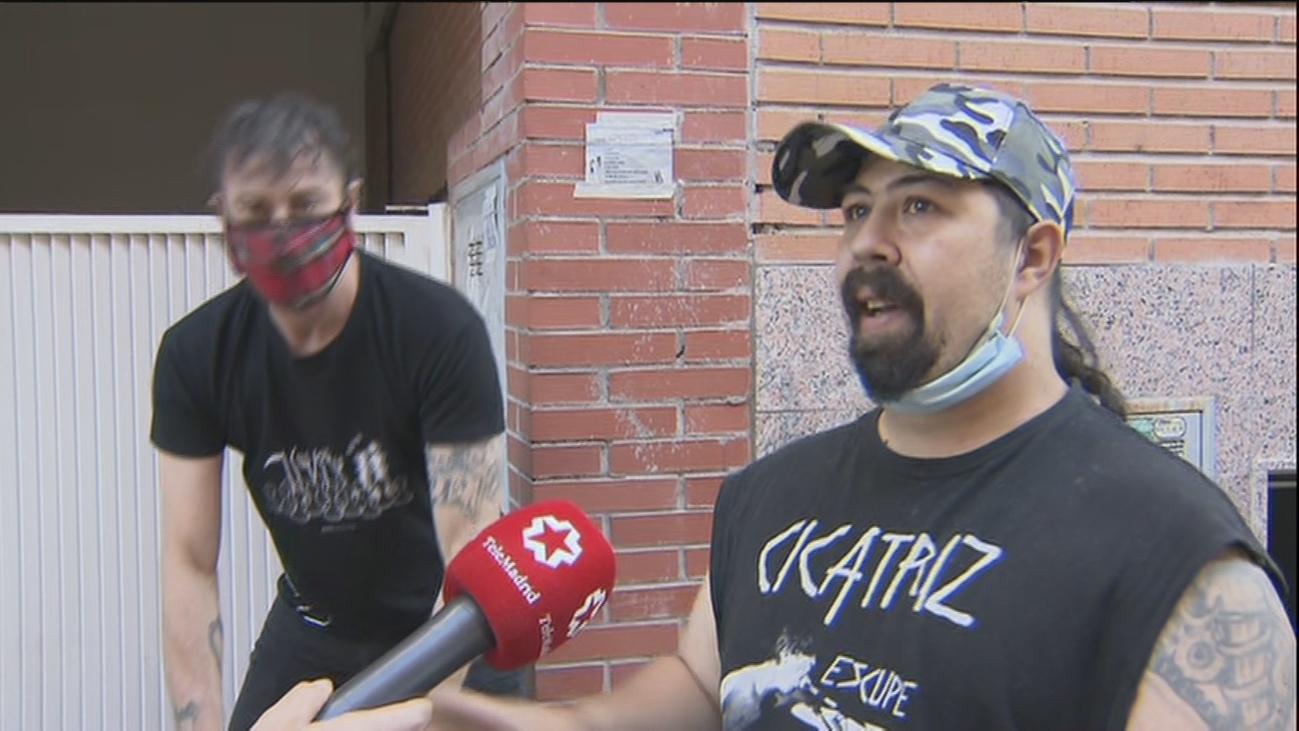 'Okupas' de Carabanchel piden agua corriente en las casas tras la clausura de las fuentes públicas