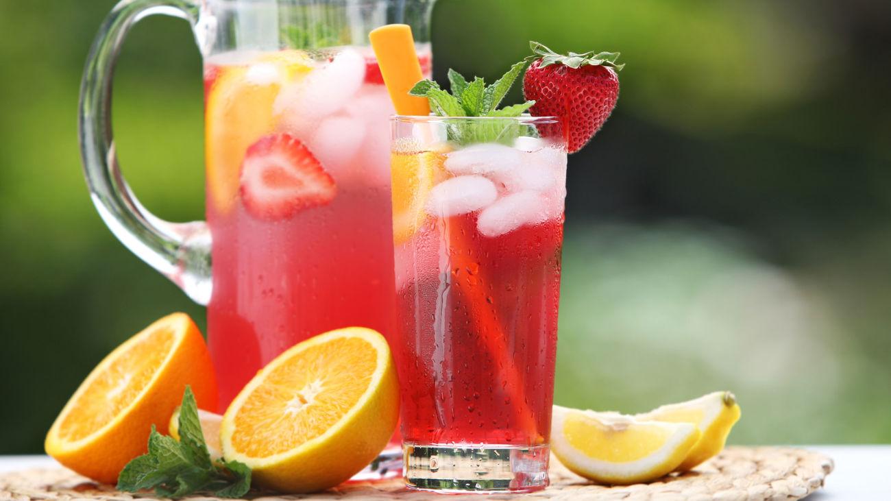 ¿Qué bebidas quitan más la sed?