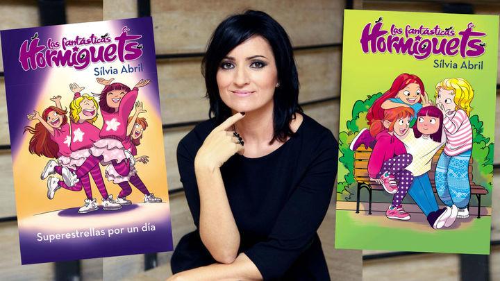 Silvia Abril nos presenta su colección de libros, 'Las fantásticas hormiguets'