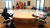 Almeida agradece a los  grupos municipales que pongan Madrid por delante de la siglas
