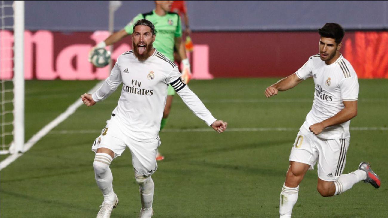 Sergio Ramos y Marco Asensio
