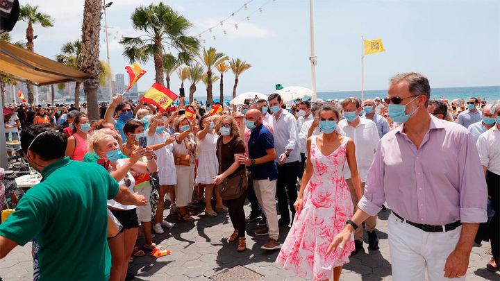 Los Reyes de España visitan Benidorm y Valencia
