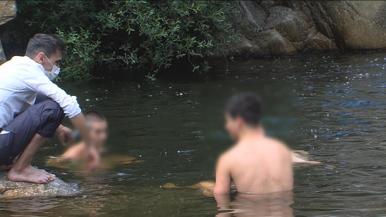 Pillados bañándose en zonas prohibidas de la sierra de Guadarrama