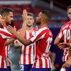 3-0: El Atlético suma y sigue, con doblete de Morata