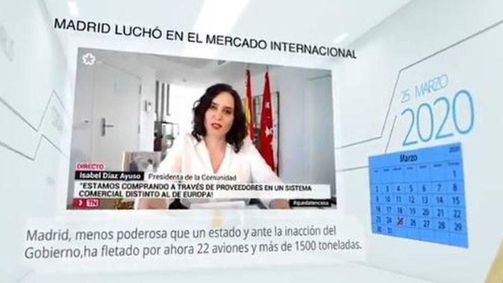 El PP lanza un vídeo asegurando que Ayuso se adelantó a Sánchez en la crisis